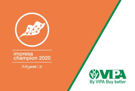 VIPA è azienda Champion 2020